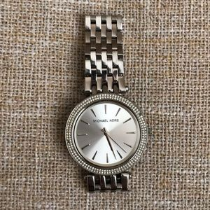 Micheal Kors Silver Watch